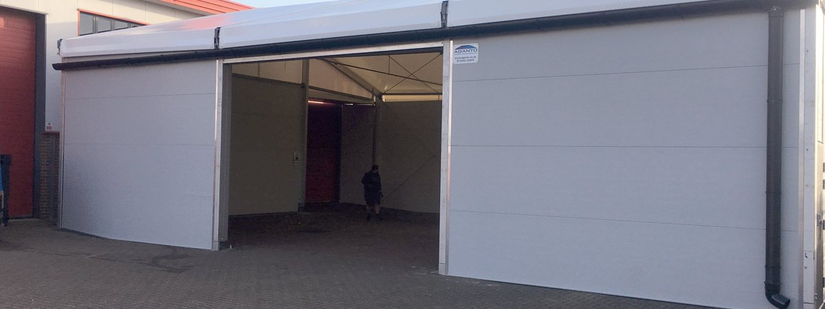 Pop-up warehouse in your car park