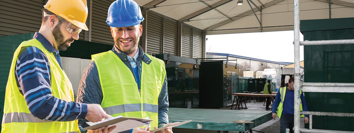 Temporary building provides increase in production capacity