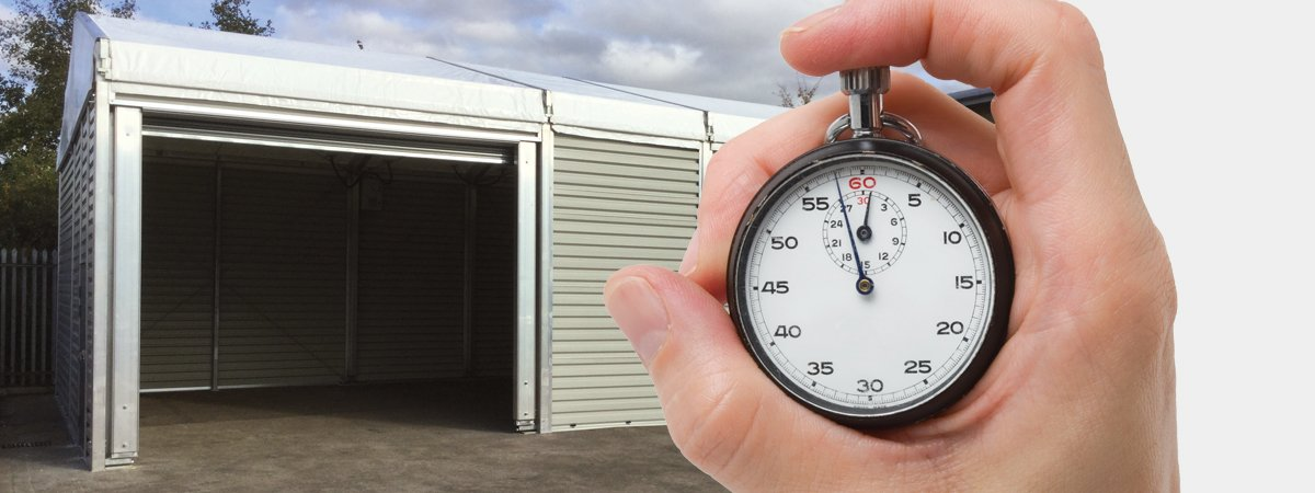 Temporary Storage Buildings and Workshop Units answer global manufacturers 'just-in-time' growth challenges